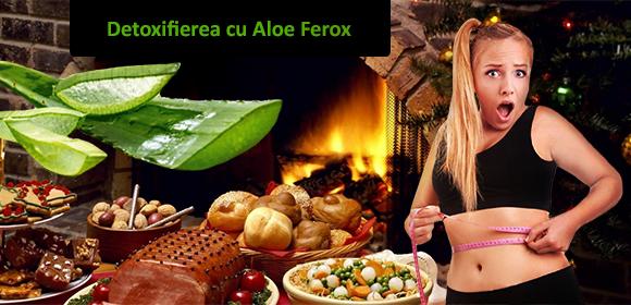 Scapa ACUM de kilogramele in plus de dupa sarbatorile pascale cu ALOE FEROX!
